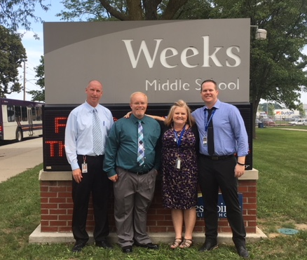 Weeks Administration Team Leads the Way