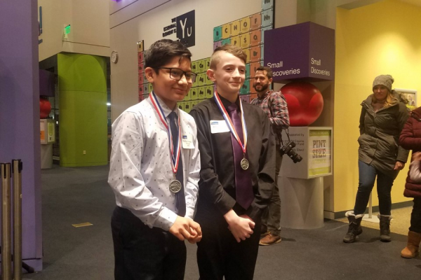 Weeks Science Students Place at DMPS Science Fair