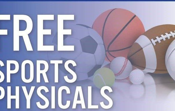 Free Sports Physicals May 2nd