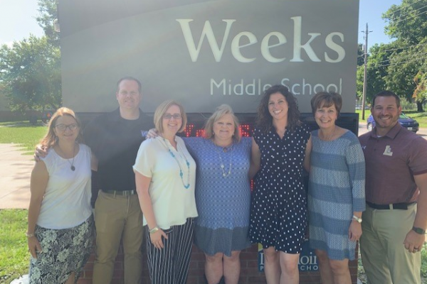 Weeks Administrative Team Leads for 2019-20